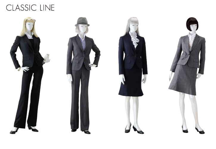 2010A/W COLLECTION She loves SUITS クラシックラインレディススーツ